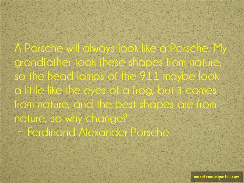Ferdinand Alexander Porsche quotes: top 2 famous quotes by Ferdinand on