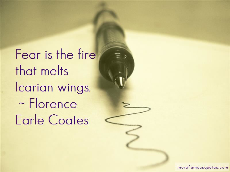 Florence Earle Coates Quotes Pictures 2