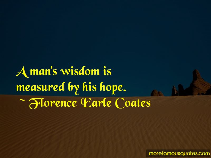 Florence Earle Coates Quotes Pictures 4