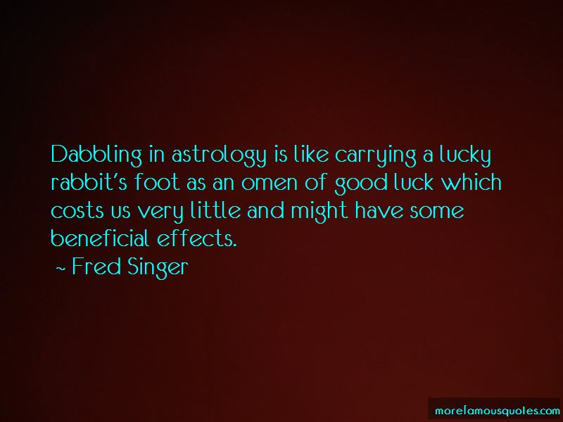 Fred Singer Quotes Pictures 4