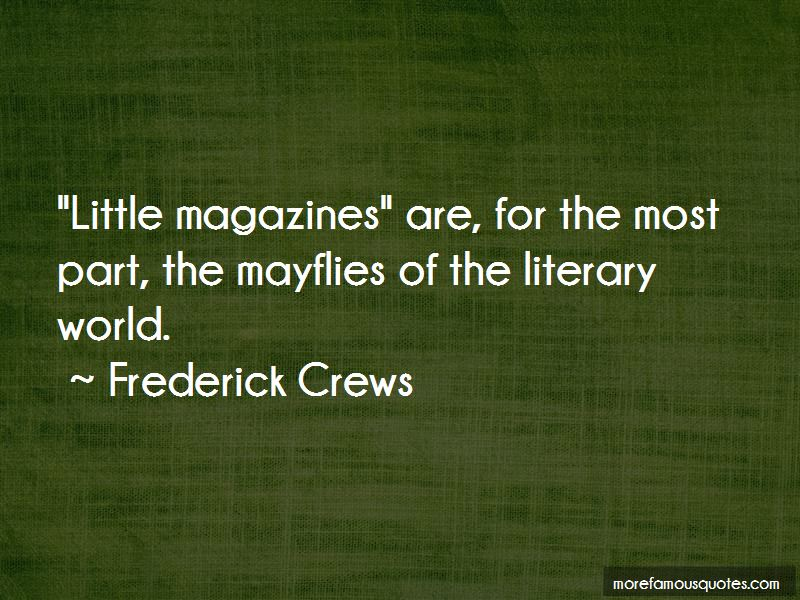 Frederick Crews Quotes Pictures 3