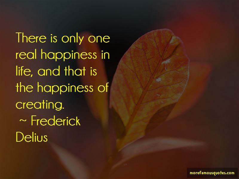 Frederick Delius Quotes