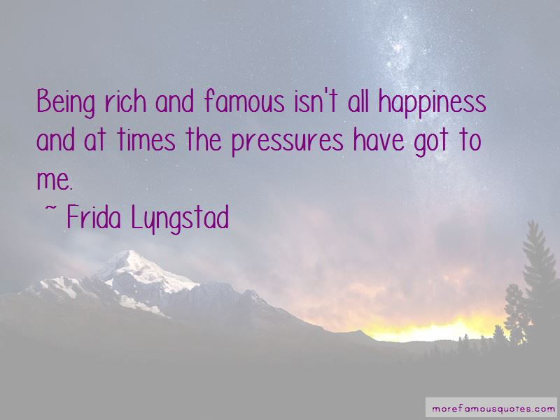 Frida Lyngstad Quotes Pictures 2
