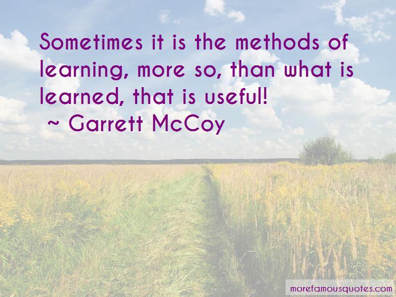 Garrett McCoy Quotes Pictures 3