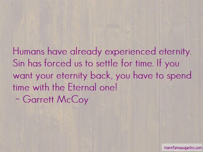 Garrett McCoy Quotes