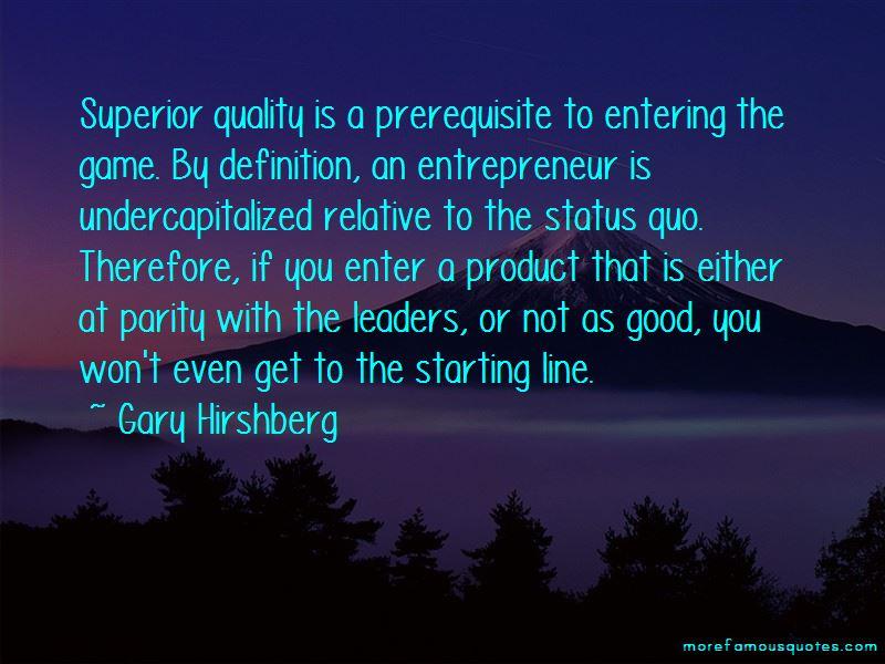Gary Hirshberg Quotes
