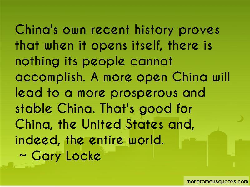 Gary Locke Quotes