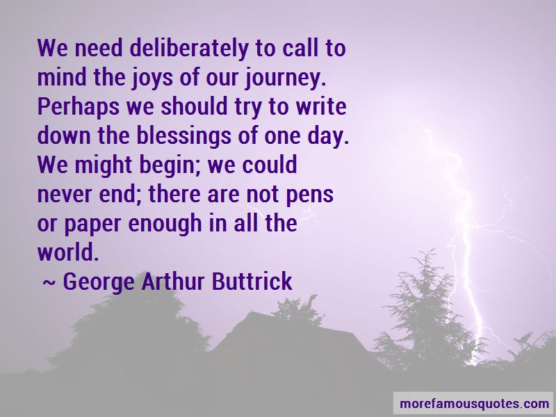 George Arthur Buttrick Quotes Pictures 4