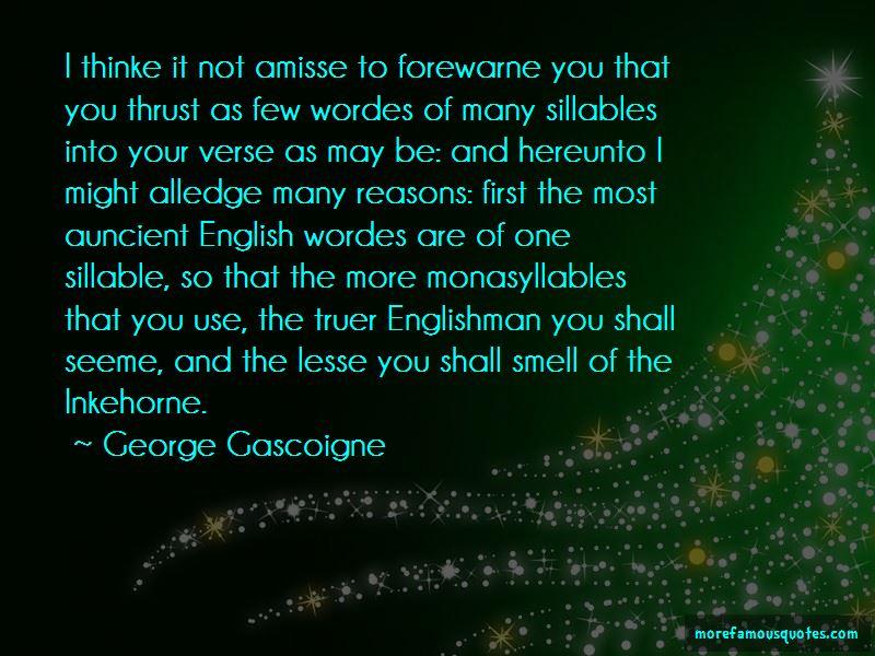 George Gascoigne Quotes Pictures 2