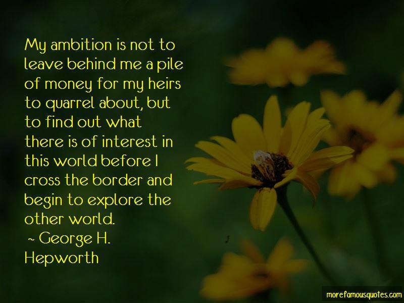 George H. Hepworth Quotes