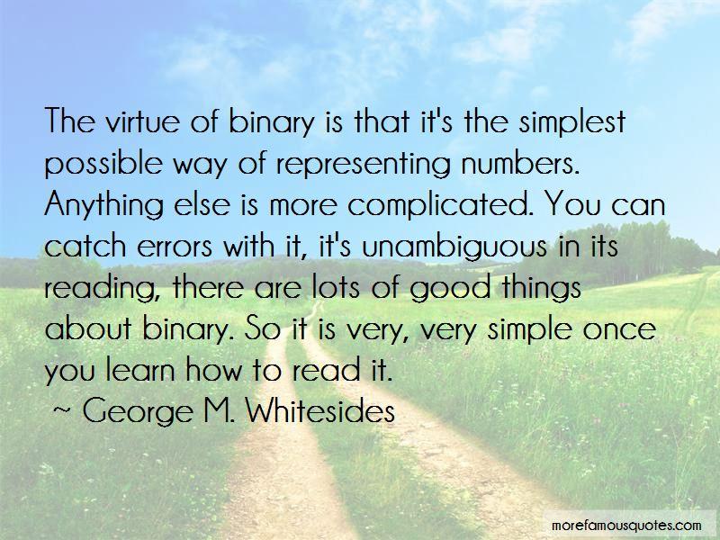 George M. Whitesides Quotes