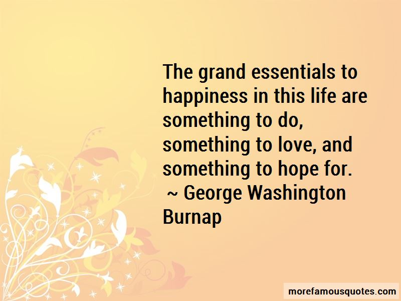 George Washington Burnap Quotes