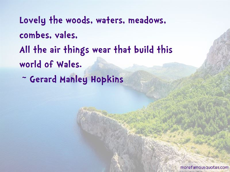 Gerard Manley Hopkins Quotes Pictures 3