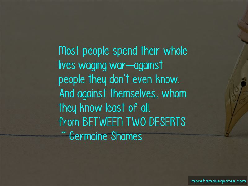 Germaine Shames Quotes Pictures 4