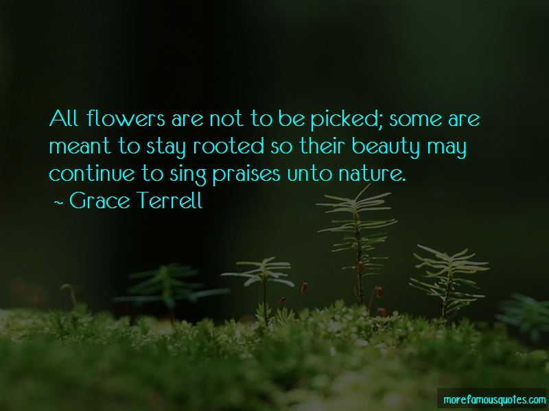Grace Terrell Quotes