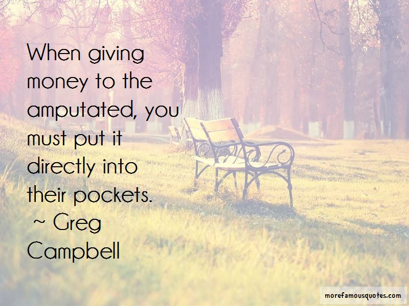 Greg Campbell Quotes