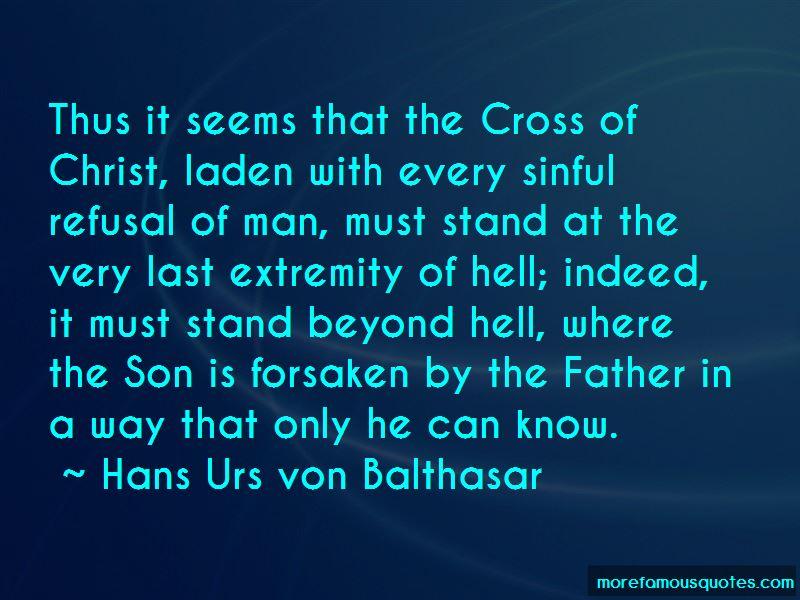 Hans Urs Von Balthasar Quotes Pictures 3