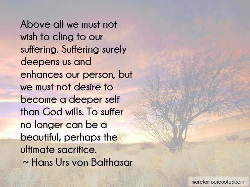 Hans Urs Von Balthasar Quotes Pictures 4