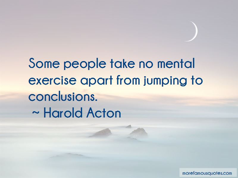 Harold Acton Quotes Pictures 2