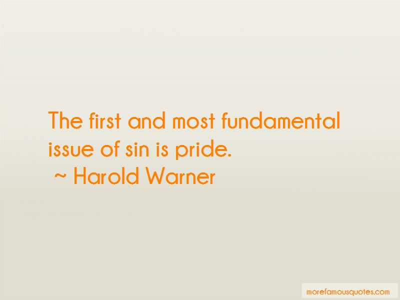 Harold Warner Quotes Pictures 2