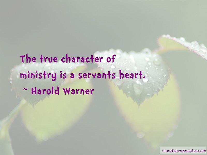 Harold Warner Quotes Pictures 3