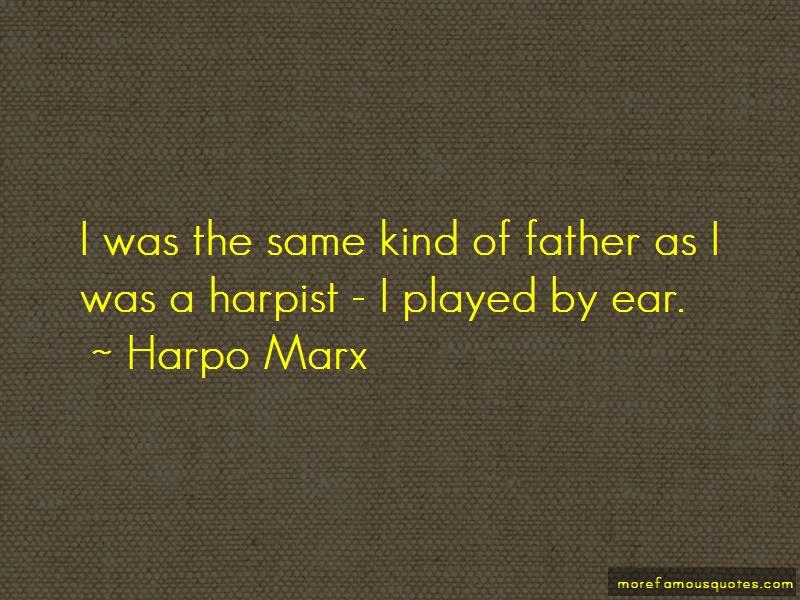 Harpo Marx Quotes Pictures 2
