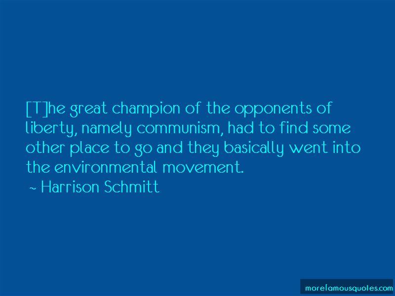 Harrison Schmitt Quotes