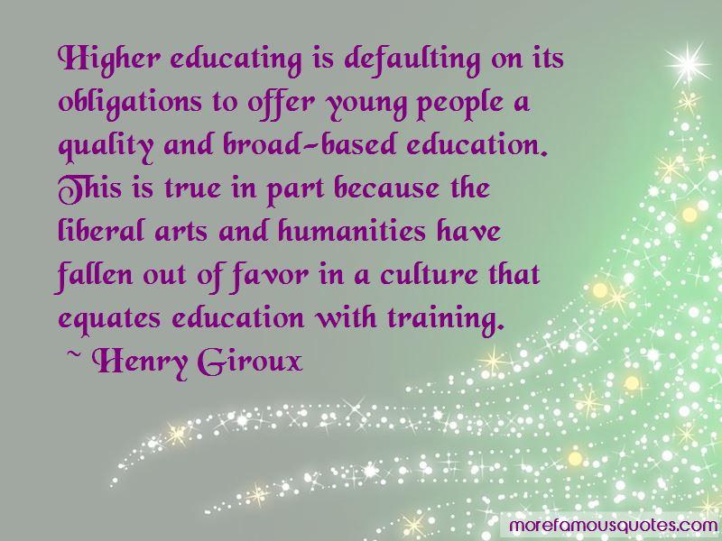 Henry Giroux Quotes