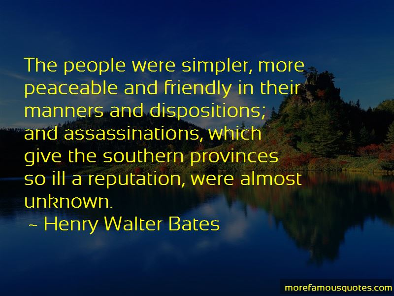 Henry Walter Bates Quotes Pictures 4