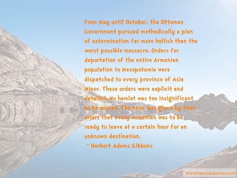 Herbert Adams Gibbons Quotes Pictures 2