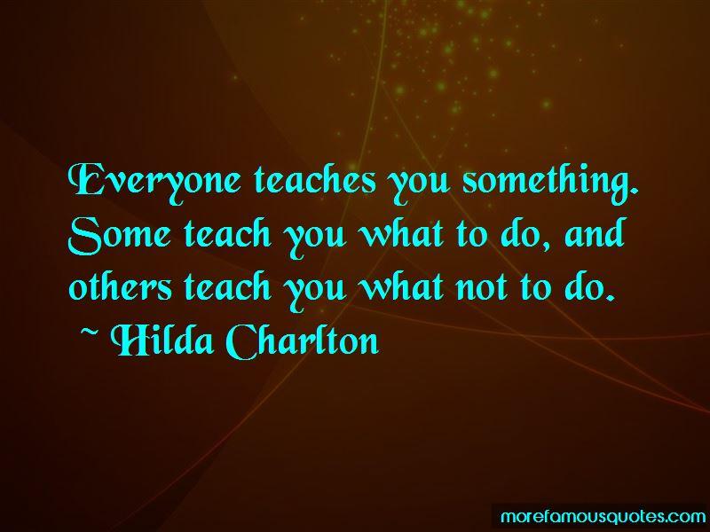 Hilda Charlton Quotes Pictures 2