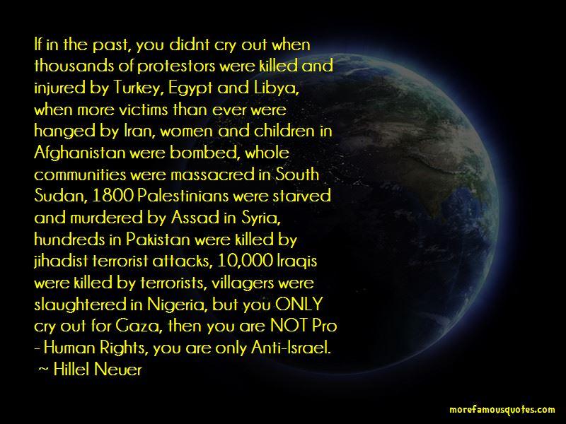 Hillel Neuer Quotes Pictures 2