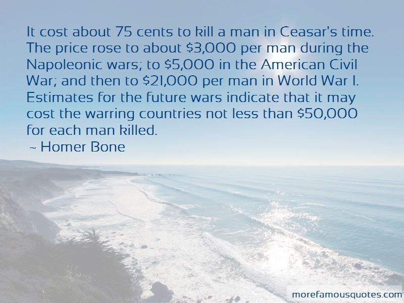 Homer Bone Quotes