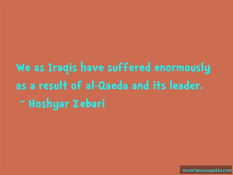 Hoshyar Zebari Quotes