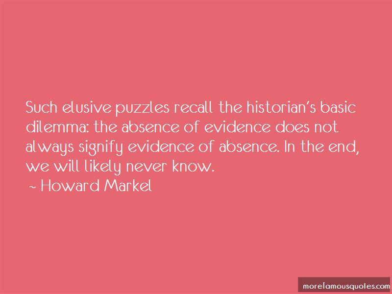 Howard Markel Quotes Pictures 2