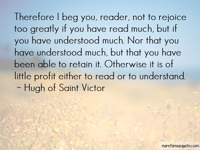 Hugh Of Saint Victor Quotes Pictures 2