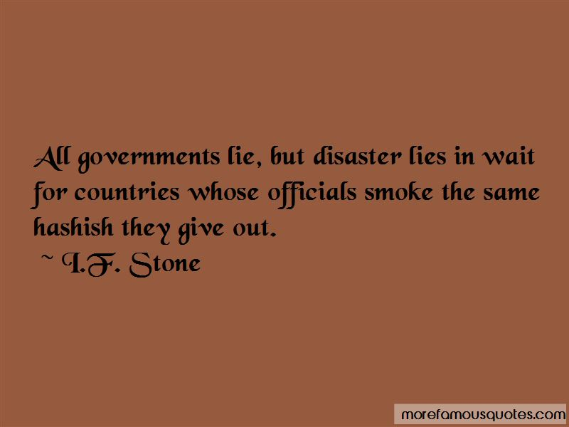 I.F. Stone Quotes Pictures 4