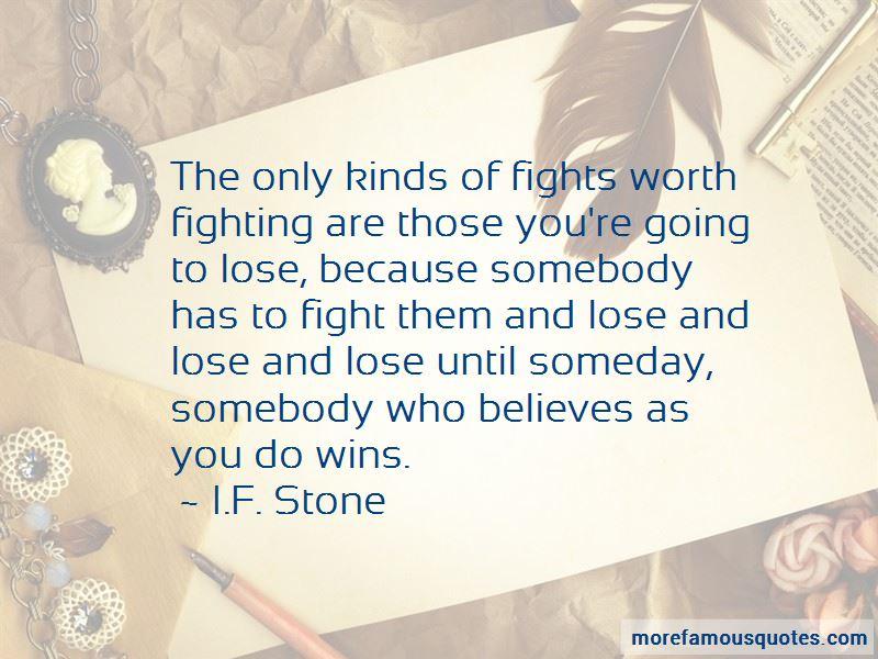 I.F. Stone Quotes