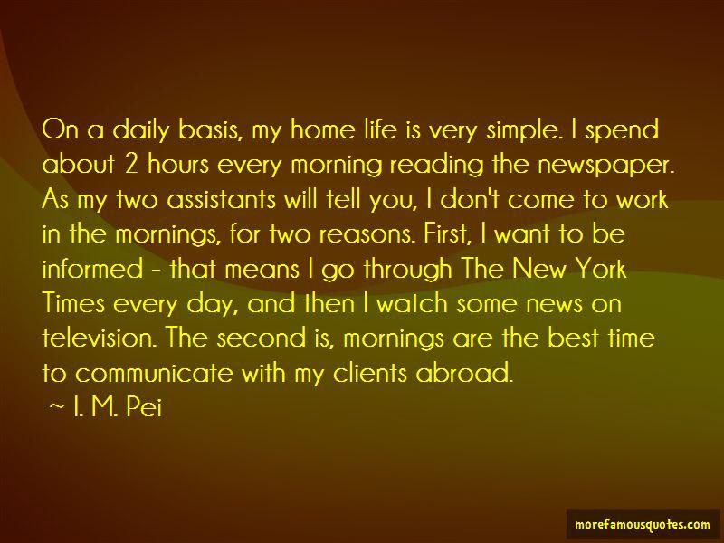 I. M. Pei Quotes Pictures 2
