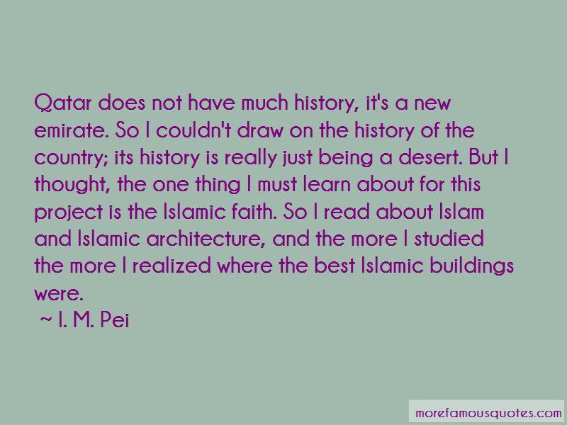 I. M. Pei Quotes