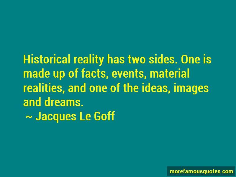 Jacques Le Goff Quotes