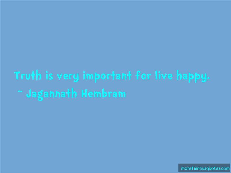 Jagannath Hembram Quotes Pictures 2
