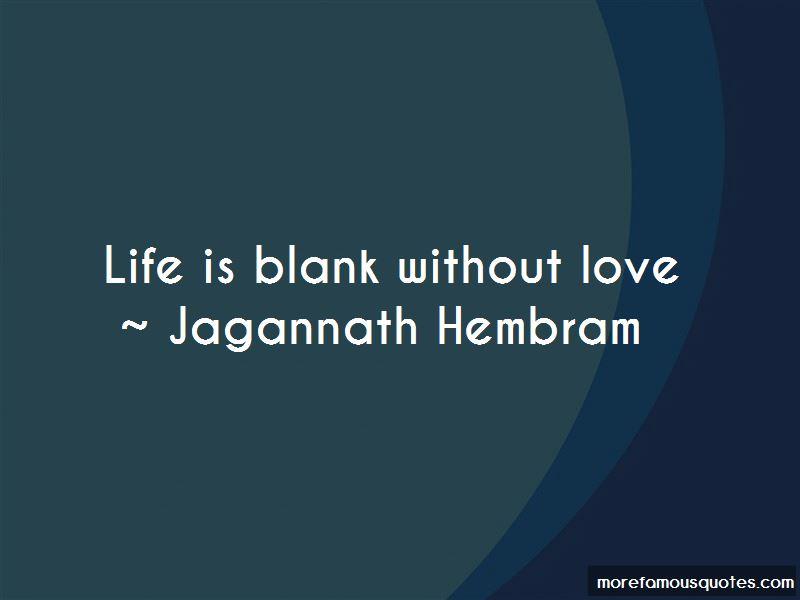 Jagannath Hembram Quotes