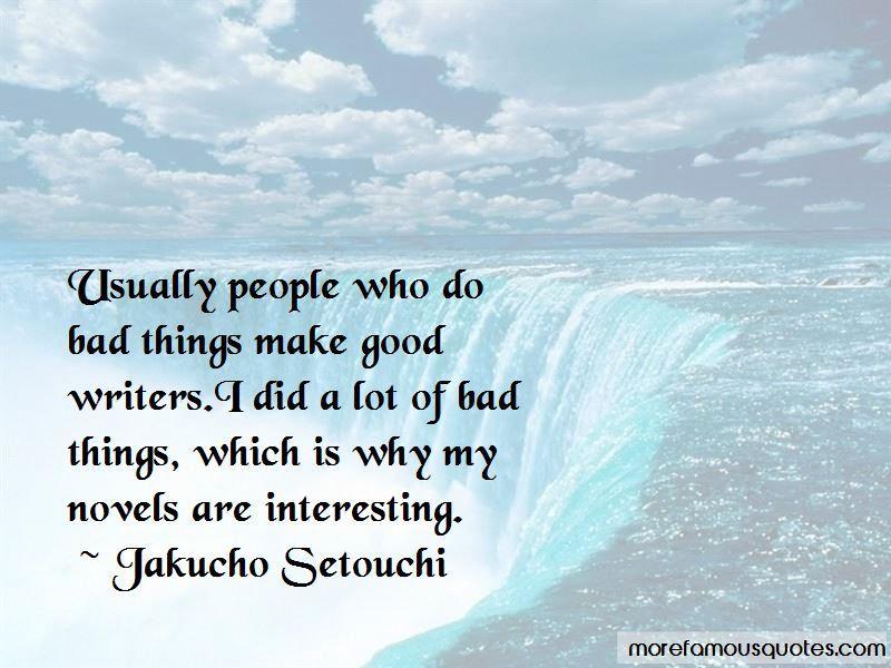 Jakucho Setouchi Quotes
