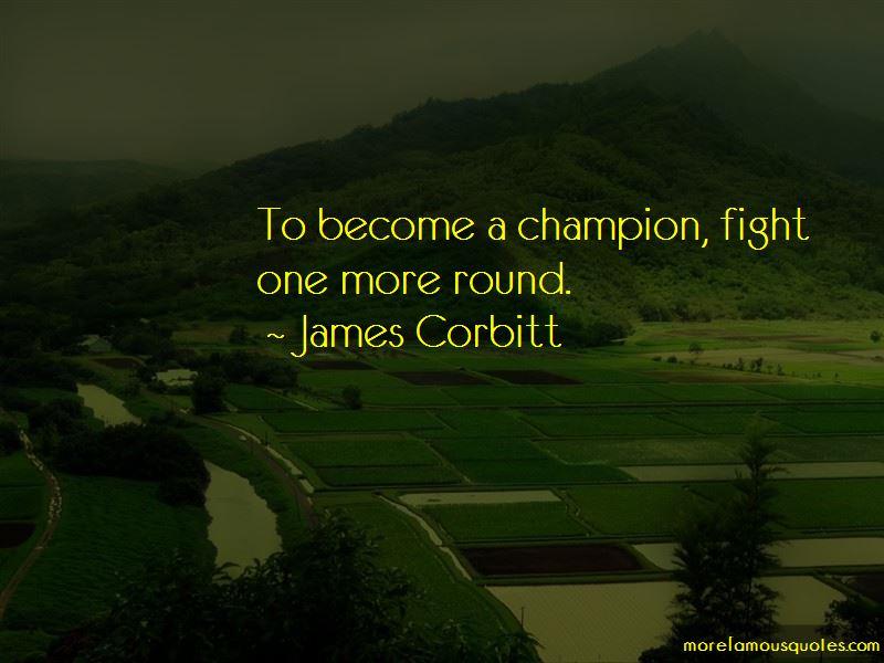 James Corbitt Quotes