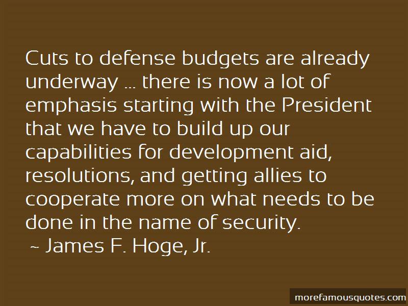 James F. Hoge, Jr. Quotes