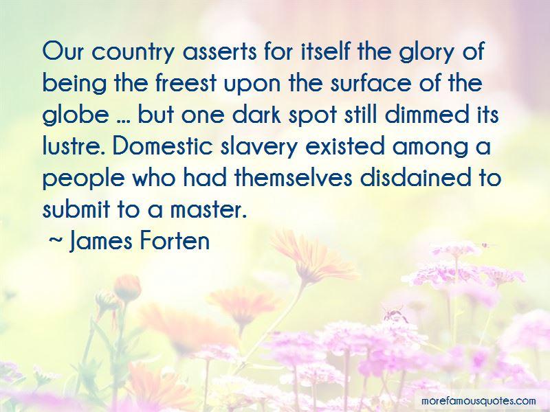 James Forten Quotes