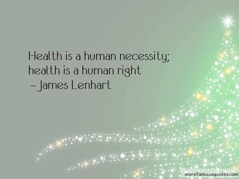 James Lenhart Quotes