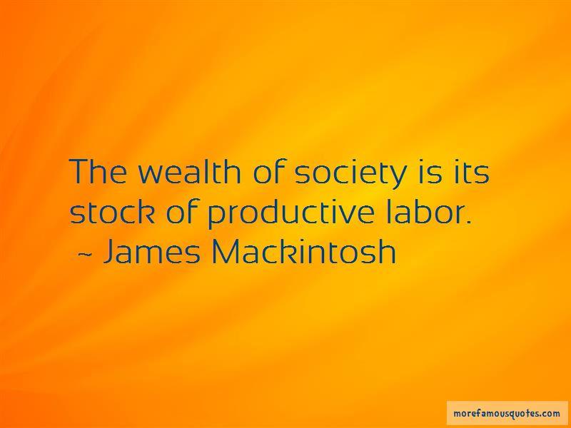 James Mackintosh Quotes