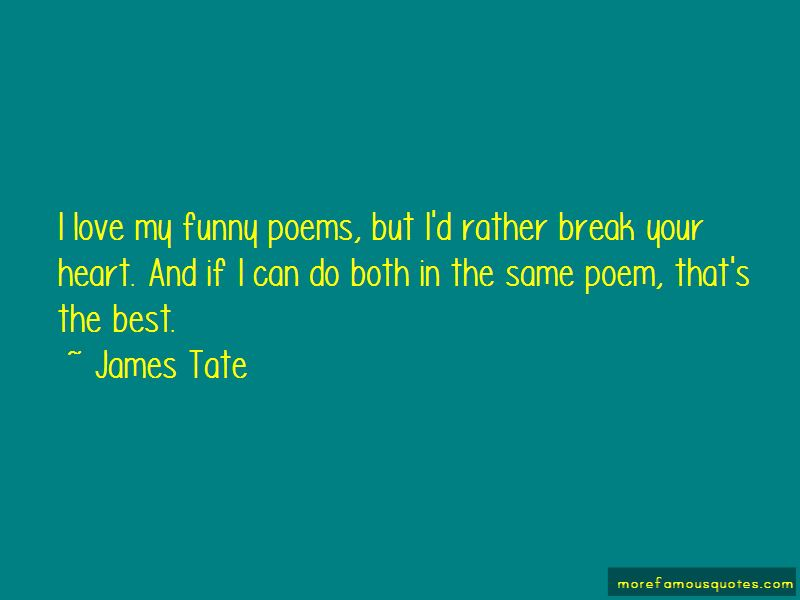 James Tate Quotes Pictures 4